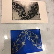 Photo polymer etching