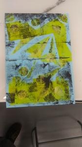 Lino print Heather Cassidy