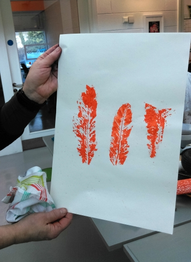 Mono Printing Workshop (Bernhard Gaul)