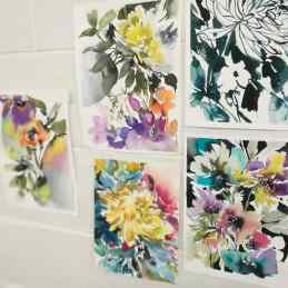 Flower Painting (Caroline Duffy)